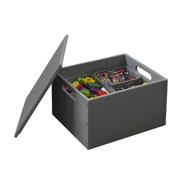 Tidy Books Toy Box, Tidy Books Toy Storage Box, Tidy books Kids Toy Storage Box, Tidy Books Children's Toy Storage Box, Children's Toy Storage, Tidy Books Children's Toy Storage, Toy Storage Box Dark Grey