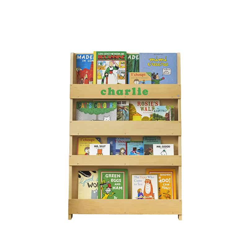 Children's bookcases, Tidy Books, Tidy Books Children Bookcases, kids bookcases, Personalised Children's Bookcase Natural