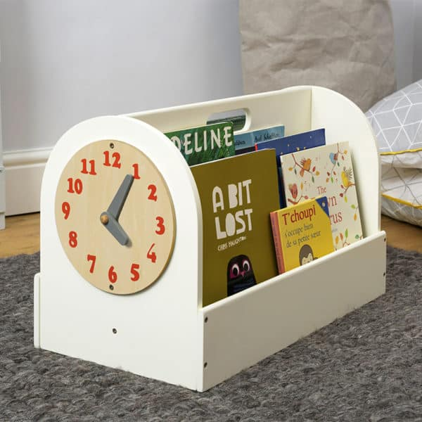 Tidy Books Children's Book Storage Box, Children's Book Storage Box, Tidy Books Book Box, Book Box, Tidy Books Box, Tidy Books Children's Book Storage Box Ivory